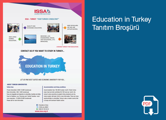 ISSA Education In Turkey Tanıtım Broşürü