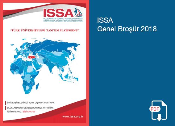 ISSA 2018 Genel Broşür