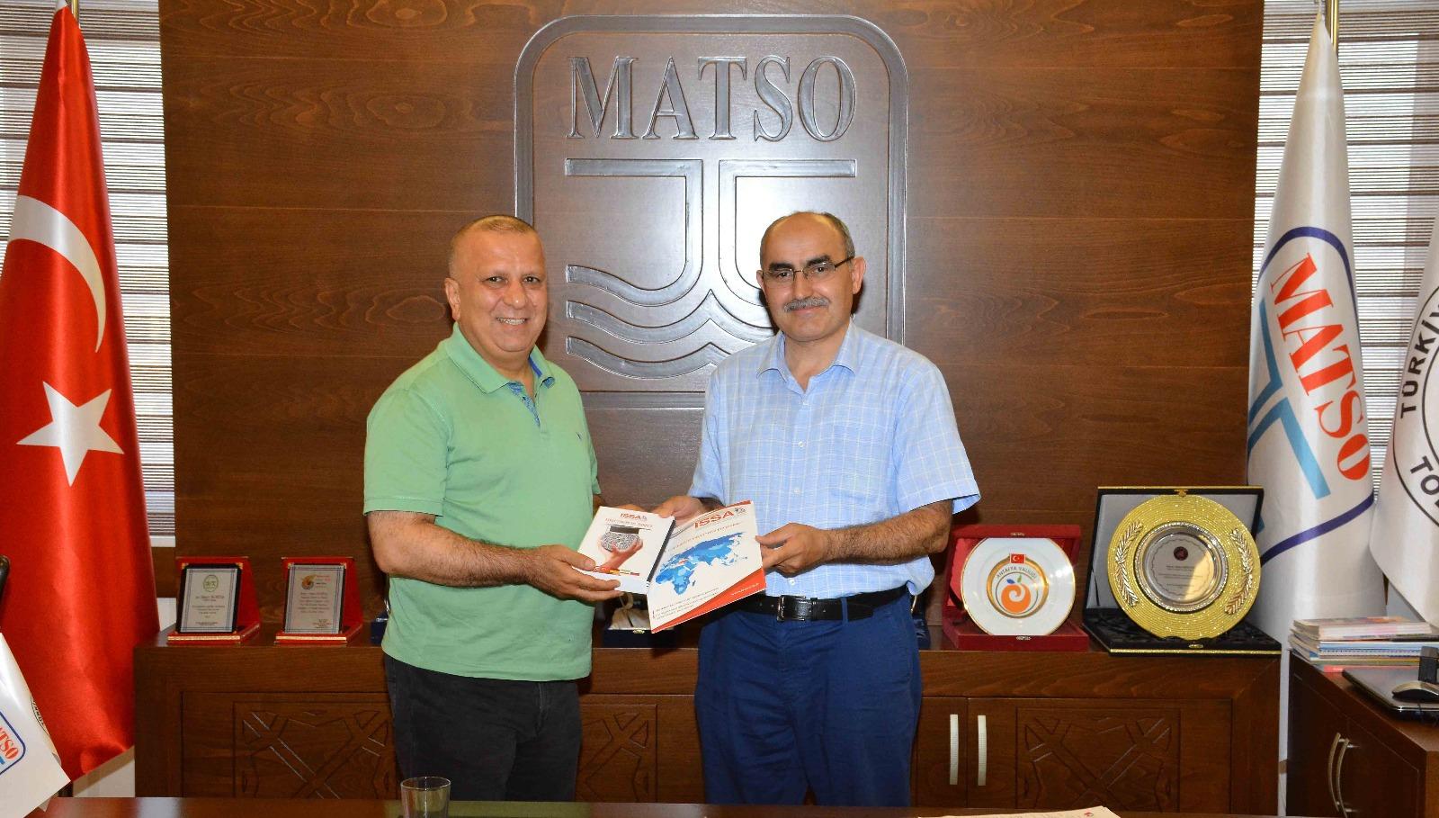ISSA-TURKEY Başkanı Dr. Dursun Aydın Manavgat Ticaret ve Sanayi Odasını (MATSO) Ziyarette Bulundu.