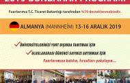 2019 SONBAHAR PROGRAMIMIZ BELLİ OLDU
