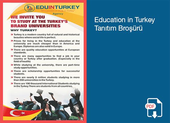 ISSA Education In Turkey Tanıtım Broşürü
